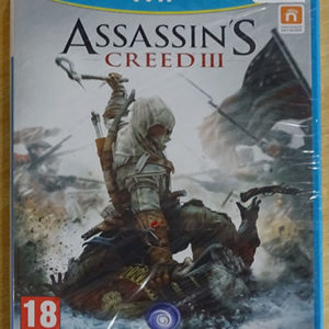 WiiU - Assassin s Creed III - blister