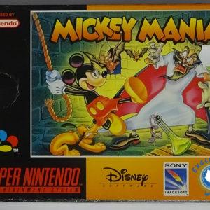Mickey Mania face